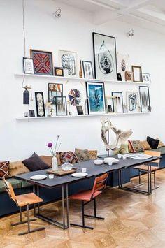 Sfeer met kelim-kussens en kleurstelling is mooi, voor in ons huis is de uitvoering missen te druk?