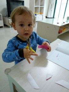 How to start you child on their scissor skills