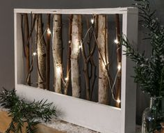 Festive Lights brings friluftsliv into our hectic lives with innovative LED lights Twig Lights, Battery Lights, Fairy Lights, Branches With Lights, Lighted Branches, Home Decor Furniture, Shabby Chic Furniture, Diy Home Decor, Twig Art