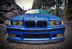 BMW E36 M3 blue                                                                                                                                                                                 Mais