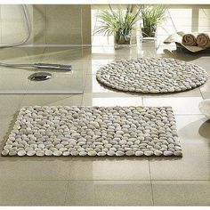 For the bathroom diy stone home decor on a budget