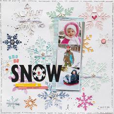 My shiny studio: Let it snow