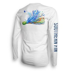 Offshore Lure Performance #fishing shirt from Southern Fin Apparel