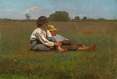 Title: Boys in a Pasture, 1874 Artist: Winslow Homer Medium: Canvas Print