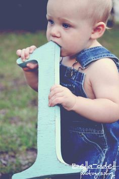 1st Birthday photo shoot  wooden number 1 by TheRusticSpot on Etsy, $33.00