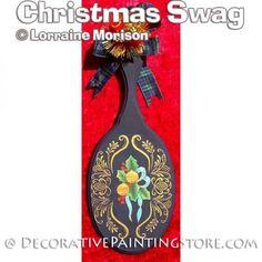 Christmas Swag Pattern - Lorraine Morison - PDF DOWNLOAD