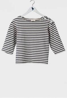 cute cropped stripe top