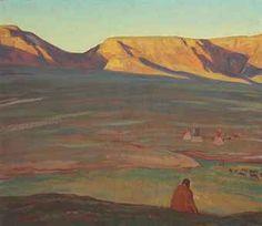The Rising Shadow - Maynard Dixon (Christies)