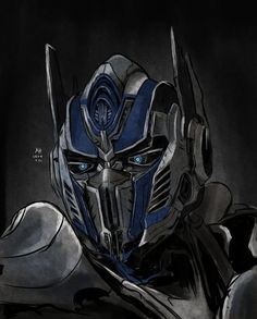 Optimus Prime in Transformers Age of Extinction. This charactor belongs to Transformers movie. Optimus Prime Transformers, Transformers Characters, Transformers Drawing, Tf Art, Cloverfield 2, Transformers Collection, Nova Era, Joker Art, Marvel