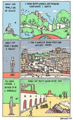 Definitely.  The Art of Living, by Grant Snider