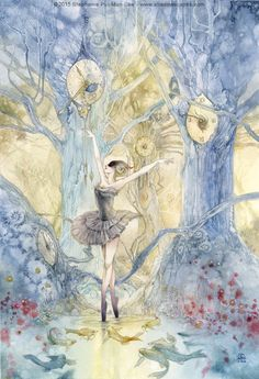 THE SEER - The past is a trap, the future an illusion. We can draw upon both to guide our steps, but the essence of dance – and of life – involves moving through the moment with cautious grace and clear perceptions. Stephanie Pui-Mun Law - Dreamdance Oracle