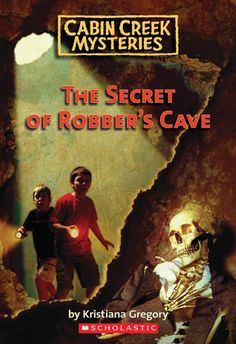 Cabin Creek Mysteries: The Secret of Robber's Cave by Kristiana Gregory. Two brothers set out to explore an overgrown and misty island. There are clues and cliffhangers and a storyline that spans the series.  — Raleigh County Read Aloud