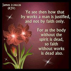 James 2:24-26 KJV