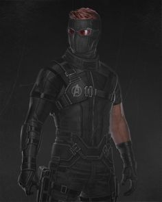 Hawkeye stealth suit by Marvel Dc Movies, Marvel Fan Art, Marvel Characters, Marvel Cinematic, Marvel Avengers, Marvel Comics, Marvel Heroes, Superhero Suits, Best Superhero