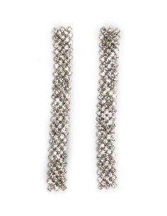 Elegant Diamond Dangle Earrings: Charlotte Russe