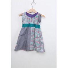 """Kleid """"Lisi"""" mit Blumen & Punkten // Gr.68-74"""