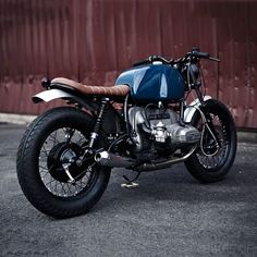 Image result for blue tank cafe racer