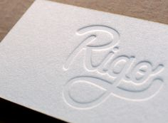 18 Unique Letterpress Business Card Design Examples