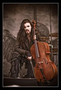 Apocalyptica - Perttu Kivilaakso - Good job Finland, you produce some verrrrry talented and attractive men.