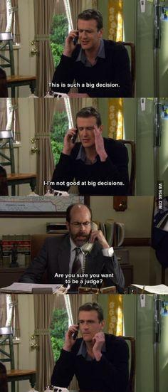 I'm not good at big decisions