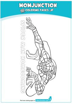 The Spiderman Ready Coloring Page Spiderman Fight, Spiderman Home, Coloring Sheets, Coloring Books, Coloring Pages, Colouring, Spiderman Coloring, 4 Kids, Coloring For Kids