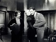 """Hilda Trevelyan, Madeleine Carroll and Robert Donat in Alfred Hitchcock's """"The 39 Steps"""" Alfred Hitchcock, Hitchcock Film, Hollywood Actor, Hollywood Stars, Classic Hollywood, Old Movies, Great Movies, Robert Donat, The 39 Steps"""