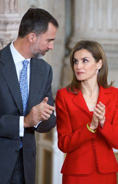 Queen Letizia of Spain Photos: Spanish Royals Attend Investigation National Awards