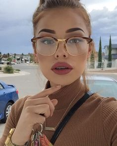 sunglasses not sunglasses glasses frames eyeglasses frames Makeup Goals, Makeup Inspo, Makeup Inspiration, Beauty Makeup, Face Makeup, Hair Beauty, Makeup Ideas, Sexy Makeup, Makeup Eyebrows
