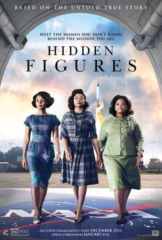 HIDDEN FIGURES is the incredible untold story of Katherine Johnson (Taraji P. Henson), Dorothy Vaughn (Octavia Spencer) and Mary Jackson (Janelle Monae)—brilliant African-American women working at NASA, who served as the brains behind one of the greatest operations in history: the launch of astronaut John Glenn into orbit, a stunning achievement that restored the nation's confidence, turned around the Space Race, and galvanized the world. The visionary trio crossed all gender and race lines…