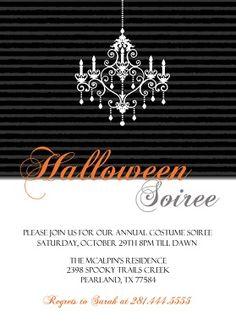 Halloween Party Invitation Wording Ideas From PurpleTrail