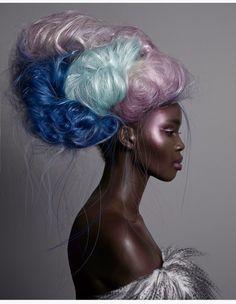 Model Ajok Madel is way too dreamy in fantastastical photo editorial by Meiji Nguyen - AFROPUNK