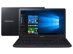 "Notebook Samsung Essentials E21 Intel Dual Core - 4GB 500GB LED 15,6"" Full HD Windows 10"