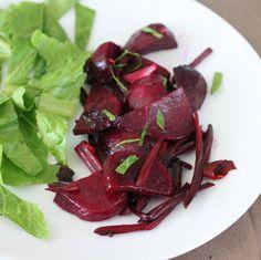 Vegan Richa: Beet Root and Beet Greens Stir fry. Vegan Glutenfree Indian recipe