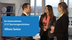 Vielfalt an verschiedenen Berufsgruppen und Charakteren: http://www.allianz.ch/karriere