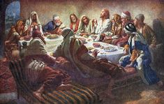 The Last Supper by Harold Copping