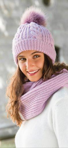 Gründl – Gefühl für Wolle – Awesome Knitting Ideas and Newest Knitting Models Lace Knitting, Knit Crochet, Crochet Hats, Beginning Crochet, Rm 1, Mini Vestidos, Knitting For Beginners, Hats For Women, Women Hat