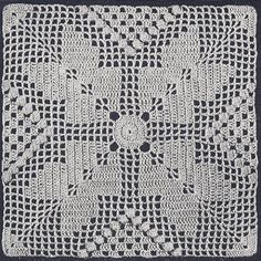 Vintage Crochet Pattern to make  Southern Pride Motif Bedspread NOT a finished item This is a pattern andor instructions to make the item only ** Continue to the product at the image link.