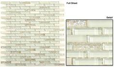 Gt White Gl Led Glacier Brick Mosaic May Qualify For Free Shipping Mosaics Bricks And