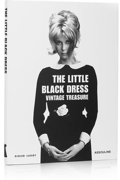 ASSOULINE  Little Black Dress by Didier Ludot hardcover book