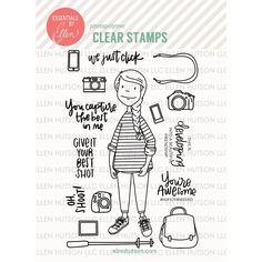 Ellen Hutson LLC - Essentials by Ellen Clear Stamps, Leading Ladies - Photo Lady by Brandi Kincaid, $15.00 (https://www.ellenhutson.com/essentials-by-ellen-clear-stamps-leading-ladies-photo-lady-by-brandi-kincaid/)