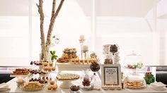 Delicious dessert buffet. Photo by Sarah Kate Dorman.