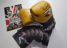 Missed out on Michael Bisping UFC tickets?  Don't worry, we've got another giveaway for you guys!  6 prizes for 6 lucky people! WIN: a signed pair of gloves OR a signed photo by the man himself. HOW TO ENTER? Make sure you're liking our page. Like the photo below! Share for an extra entry! Winners will be announced on this post at Sunday Midday UK Time. Good luck!