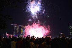 Westliches Asien, das ist Singapur. Wir waren am Nationalfeiertag dort. Phantastisch :-)