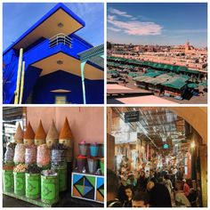 Esos lugares… Abu Dhabi y Marrakech.