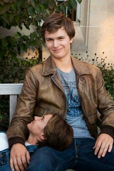 The Fault In Our Stars-Hazel and Gus-Shailene and Ansel