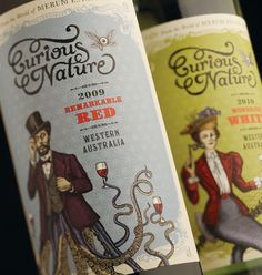 Exquisite Custom Labels: 40 Wine Labels That'll Delight You