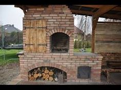 Grilo wędzarnia by buc bbq how to build smokehouse budowa krok po kroku + projekt коптильня барбекю Outdoor Grill Area, Outdoor Kitchen Patio, Outdoor Oven, Outdoor Kitchen Design, Backyard Patio, Bbq Grill Diy, Smokehouse Grill, Build A Smoker, Brick Grill