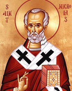 """Today is the Feast of St. Nicholas . . . gift-giver, heretic-slapper, and all round great guy."""