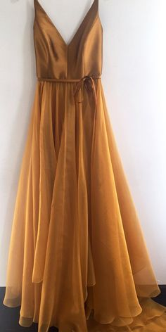 Simple V Neck Gold A-line Long Evening Prom Dresses, Cheap Custom Sweet 16 Dress. - Simple V Neck Gold A-line Long Evening Prom Dresses, Cheap Custom Sweet 16 Dresses, 18565 Source by - V Neck Prom Dresses, Cheap Prom Dresses, V Neck Dress, Evening Dresses, Dress Up, Bridesmaid Dresses, Long Dresses, Dress Long, Dresses Dresses