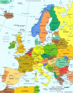 Map of italy pinterest italy italia and italy vacation europe detailed political map with capitals detailed political map of europe with capitals gumiabroncs Images